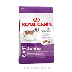 "Royal canin רויאל קנין כלב ג'אנט ג'וניור 15 ק""ג ביג פט"